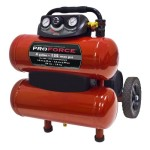 Pro Force VKF1080418 4-Gallon Oil Free Air Compressor with Dolly and Extra Value Kit