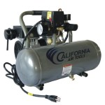 California Air Tools CAT-1650A Ultra Quiet and Oil-Free 1/2 Hp 1.6-Gallon Aluminum Tank Air Compressor