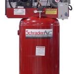 Schrader SA37580V1 7.5 HP Electric 80-Gallon Vertical Single Phase 230-volt Air Compressor