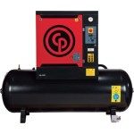 Chicago Pneumatic Quiet Rotary Screw Air Compressor 10 HP, 230 Volts, 3 P...