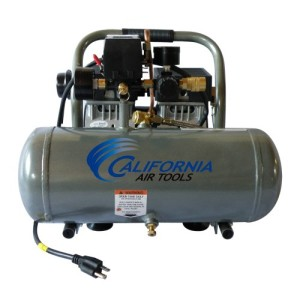 California Air Tools CAT-1675A Ultra Quiet and Oil-Free 3/4 Hp 1.6-Gallon Aluminum Tank Air Compressor