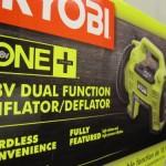 Ryobi P731 18v Dual Function Inflator/Deflator Cordless Air Compressor