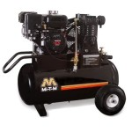 Mi-T-M AM1-PH65-20M Portable Air Compressor, 20-Gallon, Single Stage with Gasoline
