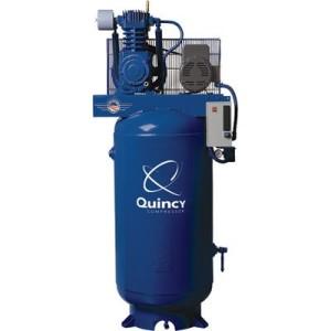 Quincy Compressor Reciprocating Air Compressor 5 HP, 460 Volt, 3 Phase, M...