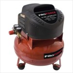 Pro-Force VNF1080620 6-Gallon Oil Free Pancake Air Compressor with Extra Value Kit