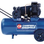 Campbell Hausfeld VT6271 26 Gallon ASME Oil-Lubricated 240V Horizontal Air Compressor