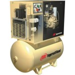 Ingersoll Rand Rotary Screw Compressor w/Total Air System 200 Volts, 3-Ph...
