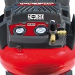 Norge Air Compressor 6 Gallon Pancake