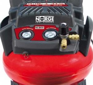 Norge Air Compressor 6 Gallon Pancake
