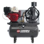 Campbell Hausfeld Service Truck Series Air Compressor 13 HP Honda GX390 E...