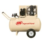 Ingersoll-Rand SS3F2-GM Garage Mate 15 Amp 2 Horsepower 30 Gallon Oiled Wheeled Single Hot Dog Compressor