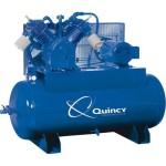 Quincy Air Master Reciprocating Air Compressor 15 HP, 230 Volt 3 Phase, M...