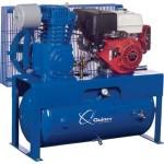 Quincy Reciprocating Air Compressor 13 HP Honda Engine, 30-Gallon Horizon...