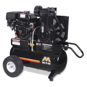 Mi-T-M AM2-PH09-20M Portable Air Compressor, 20-Gallon, Two Stage with Gasoline