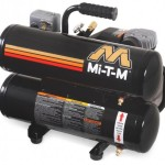 Mi-T-M AC1-HE02-05M1 Hand Carry Electric Air Compressor, 5-Gallon, Single Stage, 2-HP, 120 V, 15.0 A