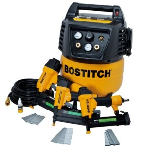 BOSTITCH BTFP12237 3-Tool Compressor Combo Kit