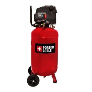Porter Cable PXCMF220VW 20-Gallon Portable Air Compressor, Red