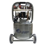 10 Gallon Ultra Quiet and Oil-Free 2.0 HP Steel Tank Air Compressor