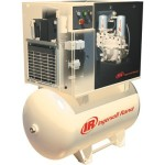Ingersoll Rand Rotary Screw Compressor w/Total Air System 230 Volts, Sing...
