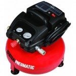 1/3 Horsepower 3 Gallon 100 PSO Oilless Pancake Air Compressor