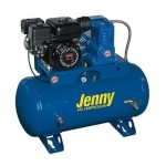 30 Gallon 5 HP Gas Single Stage Service Vehicle Stationary Air Compressor Air Line Filter - Metal Bowl - 3/8 NPT: Yes, Lubricator - Bowl Type - 3/8 NPT: No, Electric Start: No