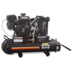 Mi-T-M AM1-PR07-08M Portable Air Compressor, 8-Gallon, Single Stage with Gasoline