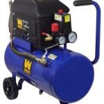 WEN 2276 Oil Lubricated Horizontal Tank Air Compressor, 6-Gallon