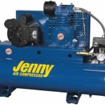 Jenny Compressors K15A-17P 1.5-HP 17-Gallon Tank Electric Single Stage Wheeled Portable Compressor