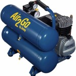 Jenny Compressors A2G246-HC4V 2-HP 4.8-Gallon Tank Electric Hand Carry Compressor