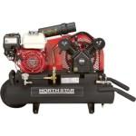 NorthStar Gas-Powered Air Compressor Honda GX160 OHV Engine, 8-Gallon Twin Tank, 13.7 CFM @ 90 PSI