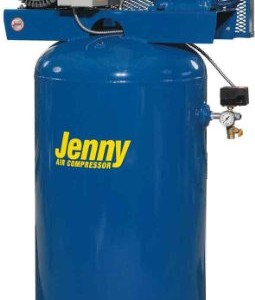 Jenny Compressors GT5B-60V-230/1 5-HP 60-Gallon Tank 1 Phase 230-Volt, Vertical Electric Two-Stage Stationary Compressor