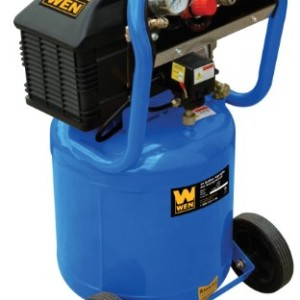 WEN 2279 10 Gallon Oil Lubricated Vertical Tank Air Compressor