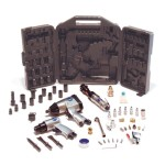 Primefit ATK1000 Air Tool Kit with Impact, Ratchet, Chisel, Blow Gun, and other Accessories, 50-Piece