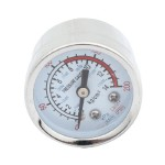 "0-200 PSI 0.35"" Compressor Compressed Pressure Gauge Silver Tone"