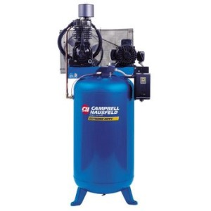Campbell Hausfeld TF211201AJ 7.5 HP Two-Stage 80 Gallon Oil-Lube Stationary Vertical Air Compressor