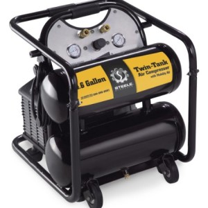 Steele Products SP-CE355TM 4.6 Gallon Air Compressor with Wheel Kit