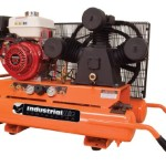 Industrial Air Contractor CTA9090980.ES 9-Gallon Super Hi-Flo Single Stage Air Compressor, Orange