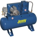 Jenny Compressors F12A-17-115/1 1/2-HP 17-Gallon Tank 1 Phase 115-Volt, Horizontal Electric Single-Stage Stationary Compressor