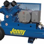 Jenny Compressors G5A-15P 5-HP 15-Gallon Tank Electric Single Stage Wheeled Portable Compressor