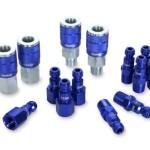Legacy A72458C ColorConnex  Automotive 14 piece Coupler and Plug Kit Blue Type C