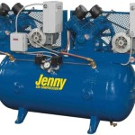 Jenny Compressors GT2B-60-115/1 2-HP 60-Gallon Tank 1 Phase 115-Volt, Horizontal Electric Two-Stage Stationary Compressor