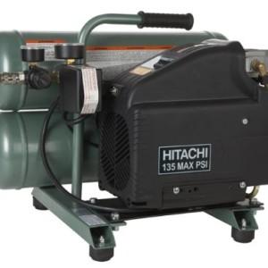 Factory-Reconditioned: Hitachi EC89 4 Gallon Twin Stack Air Compressor
