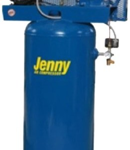 Jenny Compressors G3A-30V-230/3 3-HP 30-Gallon Tank 3 Phase 230-Volt, Vertical Electric Single-Stage Stationary Compressor