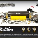 VIAIR Dual 444C Onboard Air System (200 PSI · 3.53 CFM · 40 Amp · 12V · 2.5 Gal. Tank)/with Special VIAIR Gift