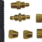 "Apache 15026304 Polyurethane Hose Repair Kit for 1/4"" I.D. Reinforced (Pack of 7)"
