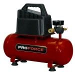 Pro-Force VPF0000201 2-Gallon Oil Free Air Compressor with Kit