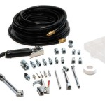 Primefit IK2003-3 1/4-Inch NPT Garage Inflator with Air Accessory and 3/8-Inch By 50-Foot Air Hose Kit, 30-Piece