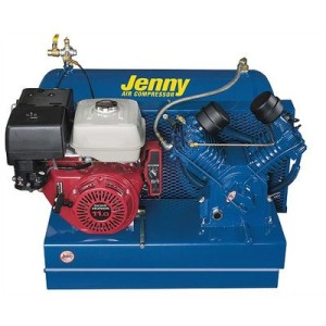 30 Gallon 11 Horse Power Gas Two Stage Special Portable Air Compressor Mount: Trailer, Air Line Filter - Metal Bowl - 3/8 NPT: No, Lubricator - Bowl Type - 3/8 NPT: Yes