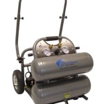 California Air Tools 4620C Ultra Quiet Oil-Free and High Pressure Portable Air Compressor, Silver Metalic
