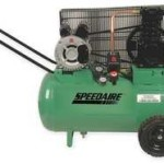 Speedaire 1NNF4 Air Compressor, 120 V, 2 HP, 13 Gal Tank